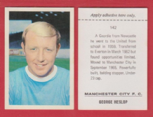 Manchester City George Heslop 142